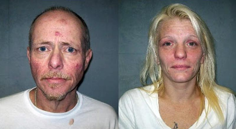 John Terry Underwood II and Terra McConnell. (Grayson County Sheriff's Department)