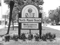 North Miami Beach sign