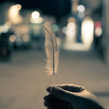 I Found A Feather On The Passenger Seat Of My Car And It Brought Me To Tears