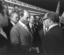 Sadat in Israel