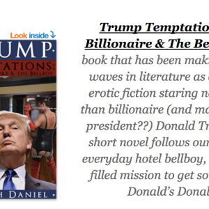 The 11 Sluttiest Lines From The Incredible Donald Trump Erotic Fiction Book