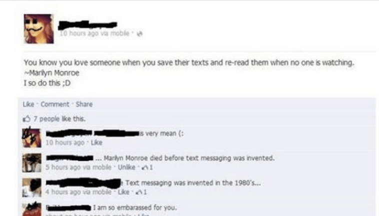 These Are The 38 Funniest Facebook Posts You'll EverRead