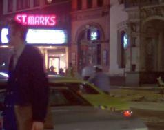 st. marks theater night
