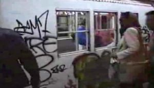 subway rush hour