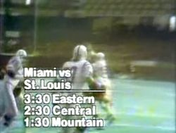 Thanksgiving 1977 football