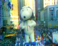 Thanksgiving 1977 Snoopy