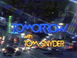tomorrow tom snyder