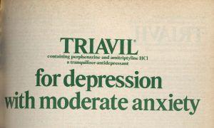 Triavil for depression