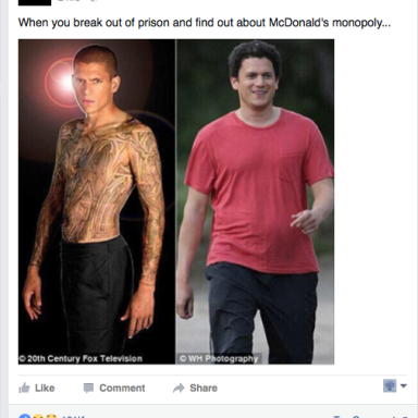 Wentworth Miller's Viral Response To A Fat-Shaming Meme Will Bring Tears To Your Eyes