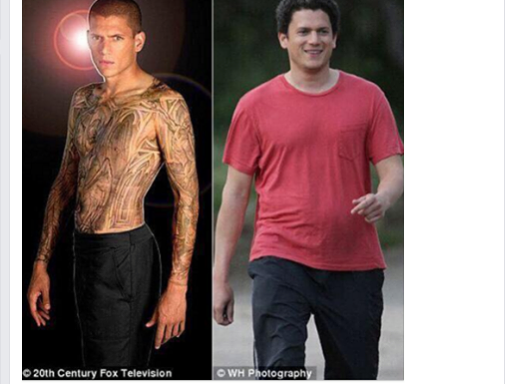 Wentworth Miller's Viral Response To A Fat-Shaming Meme Will Bring Tears To YourEyes