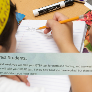 Inspirational Teacher Tells Anxious Students EXACTLY How Much Standardized Tests Matter