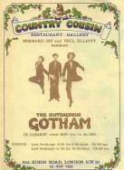 1977 Gotham London poster