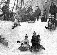 1978 sled snow