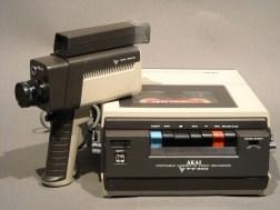 Akai video recorder camera