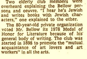 Bellow two club members