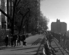 Brooklyn Heights promenade winter