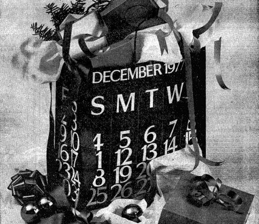 Christmas 1977 top