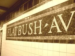 Flatbush Avenue subway sign