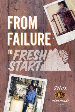 From Failure to FreshStart