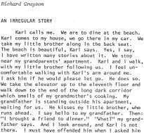 Irregular Story opening