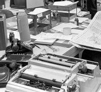 newsroom desk