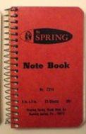 notebook 1978