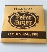 Peter Luger matchbook