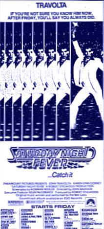 Saturday Night Fever ad