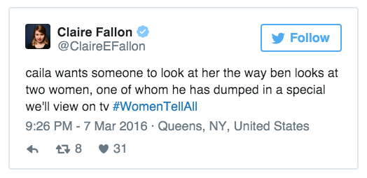 23 Tweets That Summarize The Psychosis That Was #TheBachelor 'Women Tell All'