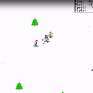 The Return Of SkiFree: Why This Totally Mental 90s Kid Favorite Is Just Normative And Capitalist Today