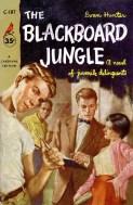 The Blackboard Jungle - illus Clark Hulings