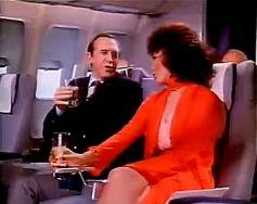 1978 joan collins on plane