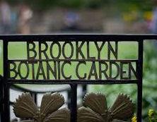 brooklyn botanice garden sign