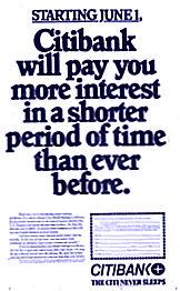 Citibank ad 1978