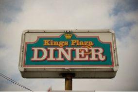 kings plaza diner sign