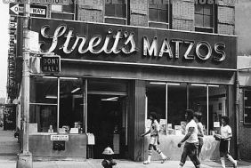 matzo factory