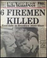NY Post fire