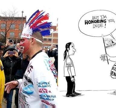 Why Mascots Aren't Part Of Tradition When They're Racist