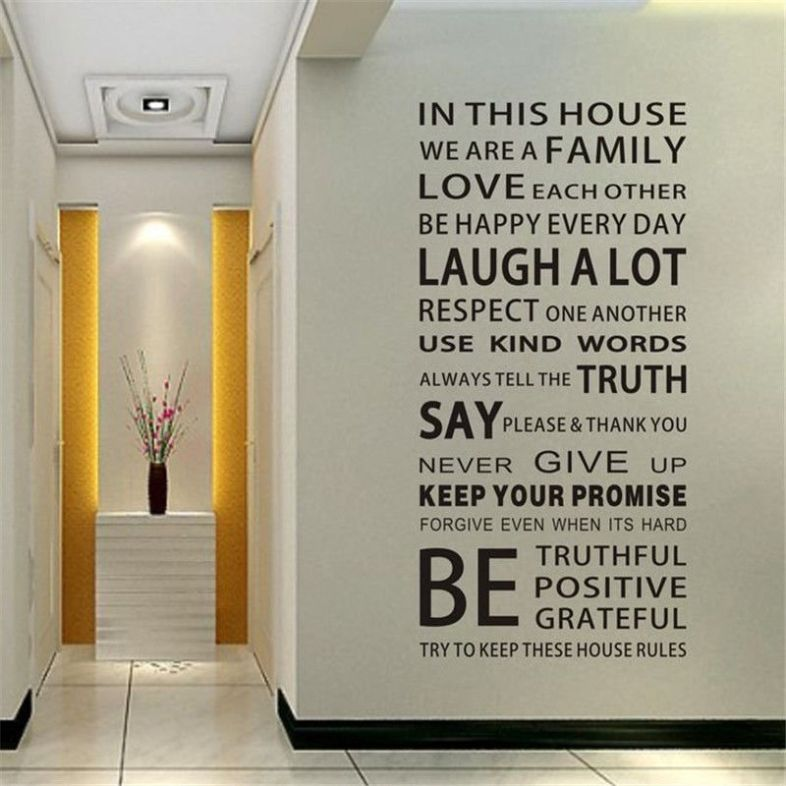 Product 1 - Words Decal Image