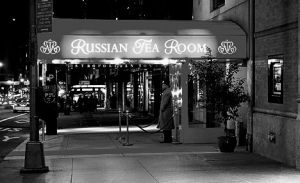 Russian Tea Room BW
