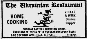 Ukrainian restaurant