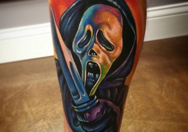 20 Scarily Awesome Tattoos Only A True Horror Fan Could Appreciate