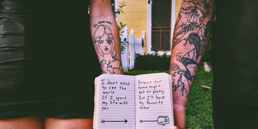I Want To Read The Stories On YourSkin
