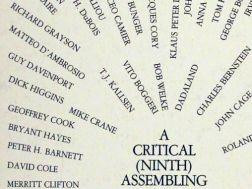 a critical assembling excerpt