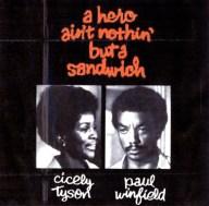 A Hero Ain't Nothing But a Sandwich cvr