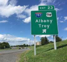Albany sign