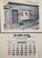Ann Arbor Tattoo calendar
