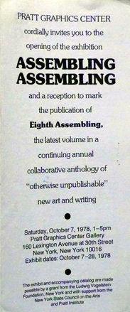 Assembling Assembling exhibition