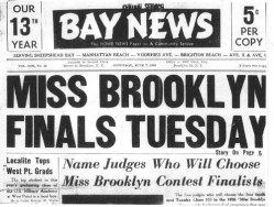 Bay News Miss Brooklyn
