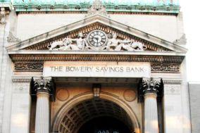 Bowery Savings Bank Chinatown